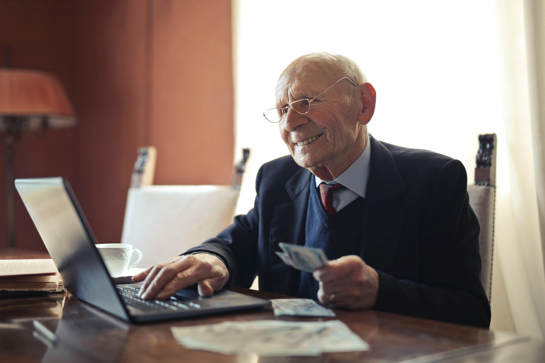Older Adult manage finances